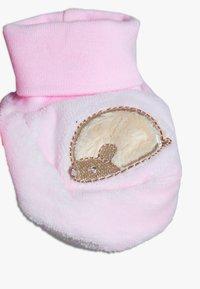 OVS - BABY HAT SHOES SET  - Mössa - pink lady - 2