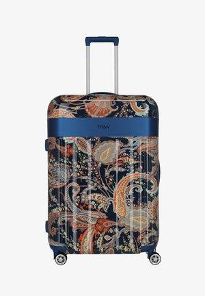 SPOTLIGHT FLASH - Wheeled suitcase - paisley blue