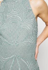 Lace & Beads - NAEVA MAXI - Ballkjole - grey as nalani - 5