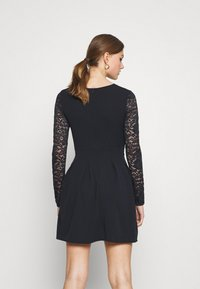 WAL G. - VIVTORIA PLUNGE SKATER DRESS - Cocktail dress / Party dress - navy blue - 2