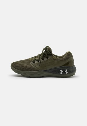 CHARGED VANTAGE - Neutral running shoes - marine/od green