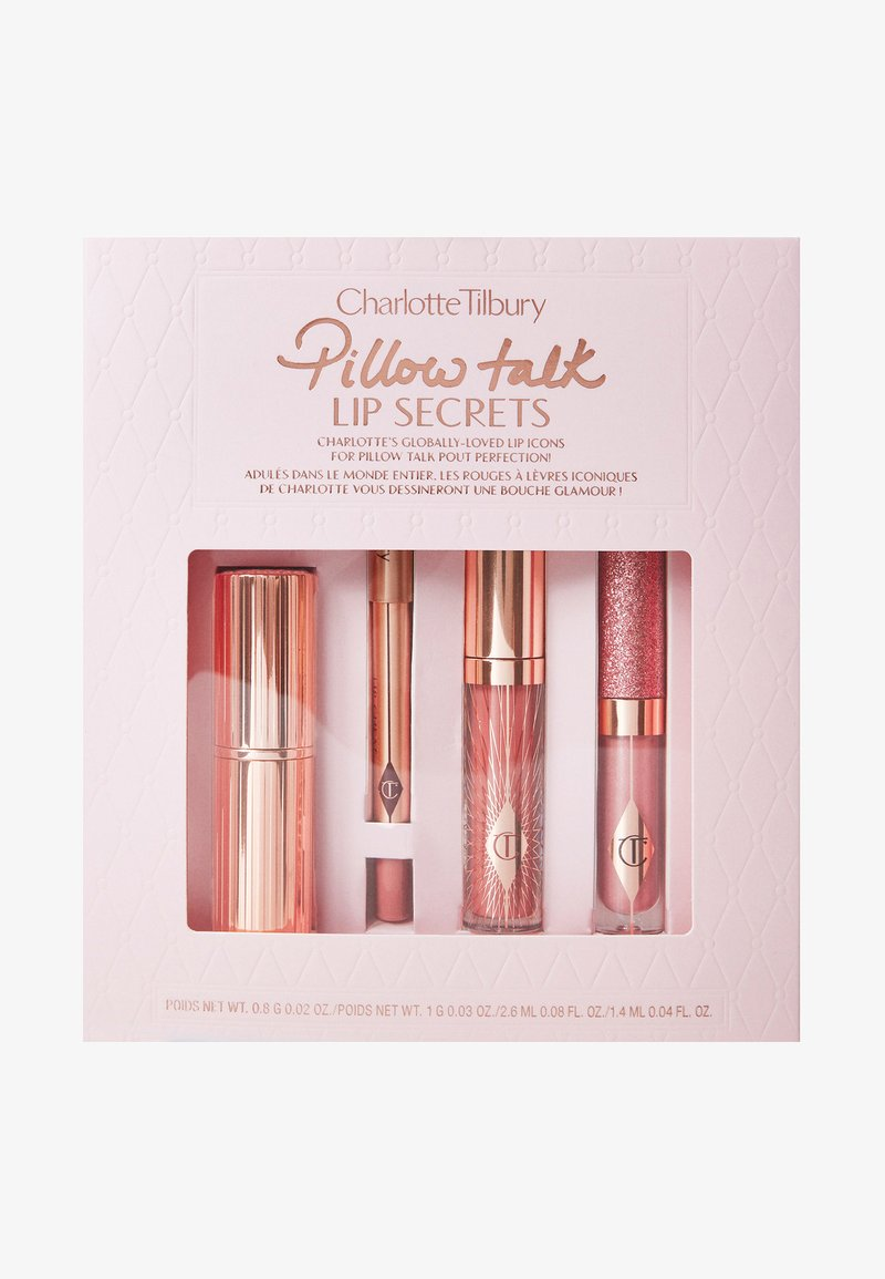 Charlotte Tilbury - PILLOW TALK LIP SECRETS - Makeup set - -
