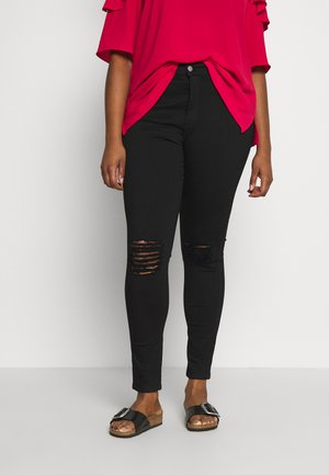 LEXY - Jeans Skinny Fit - black denim