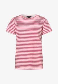 Franco Callegari - Print T-shirt - pink weiß - 0