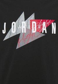 Jordan - JUMPMAN AIR CREW - Print T-shirt - black - 2