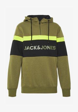JCOWISEMAN HIGH NECK  - Sweatshirt - winter moss//hood / authentic