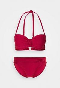 WIRE SET - Bikini - red