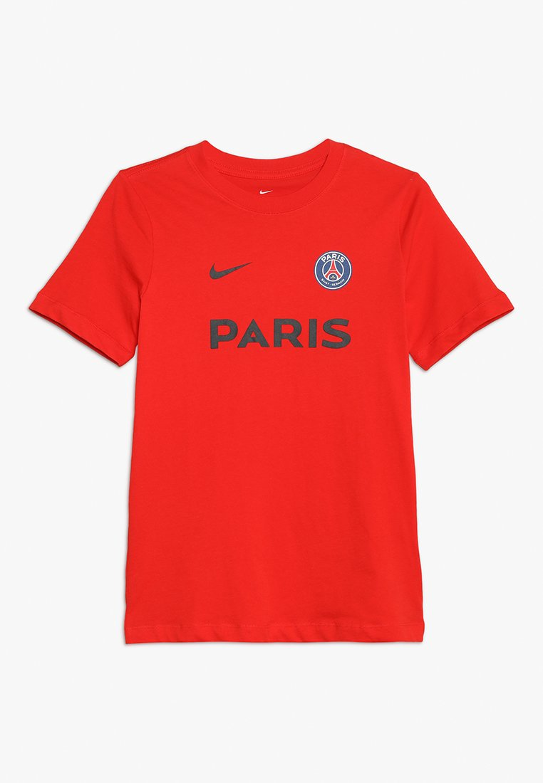 Nike Performance - PARIS ST. GERMAIN TEE CORE MATCH - Club wear - challenge red