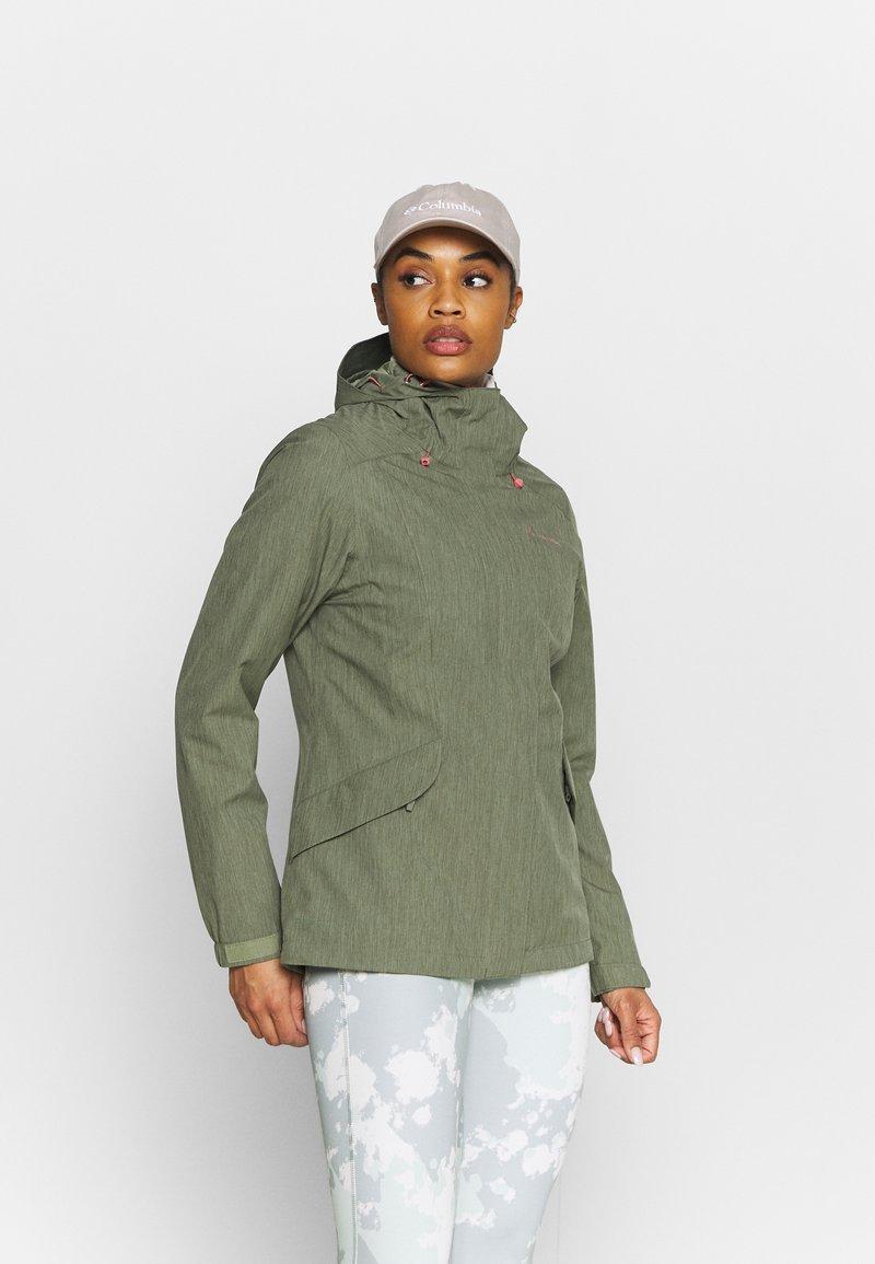 Vaude - ROSEMOOR - Hardshell jacket - fango