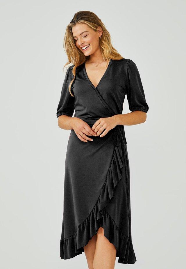 MARGIT - Korte jurk - black