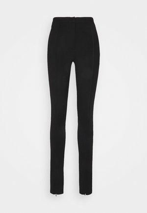 OBJPILARI LONG PANTS A FAIR - Trousers - black