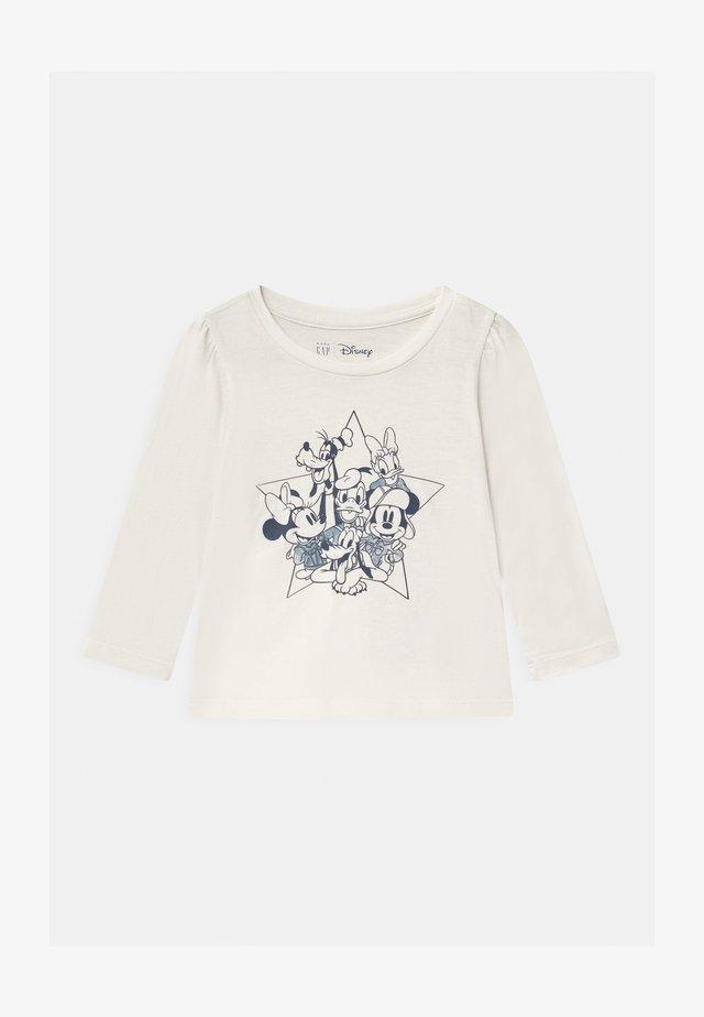 TODDLER GIRL DISNEY MICKEY MOUSE & FRIENDS CLUB - Langarmshirt - white