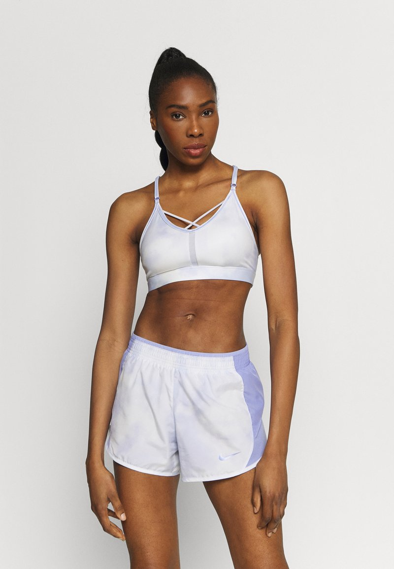 Nike Performance - INDY SKY BRA - Sports-BH'er med let støtte - light thistle/white