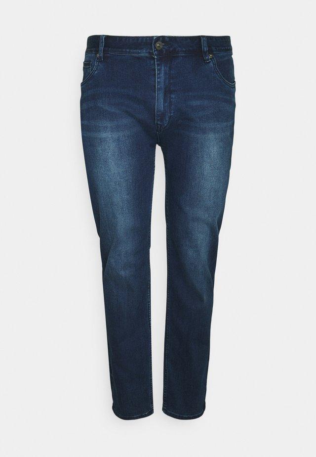HUNTER SUPERFLEX - Slim fit jeans - rinse