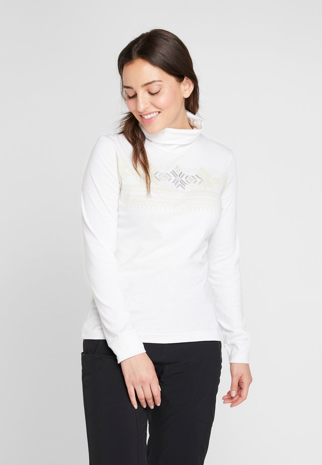 Long sleeved top - natural white