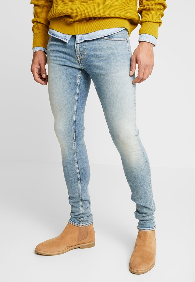 SLIM - Jeans slim fit - dust blue
