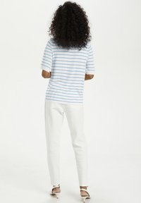 Kaffe - Print T-shirt - chalk chambray blue stripes - 2