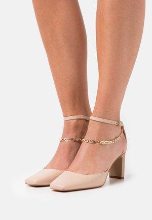 SOFTIE - Classic heels - bone