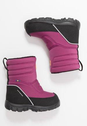 VOXNA WP - Snowboots  - damson plum