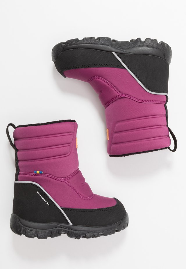 VOXNA WP - Winter boots - damson plum