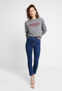 Guess - GIULIA - Sweatshirt - medium charcoal heat - 1
