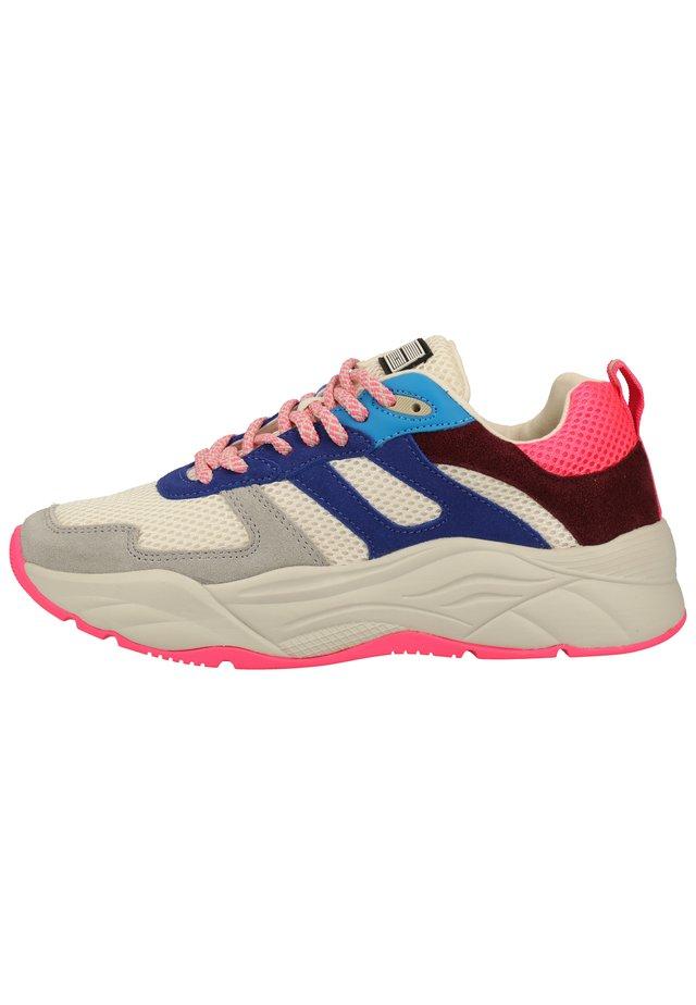 Sneakers laag - blue multi s651