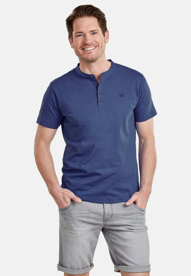 SERAFINO - Basic T-shirt - vintage blue