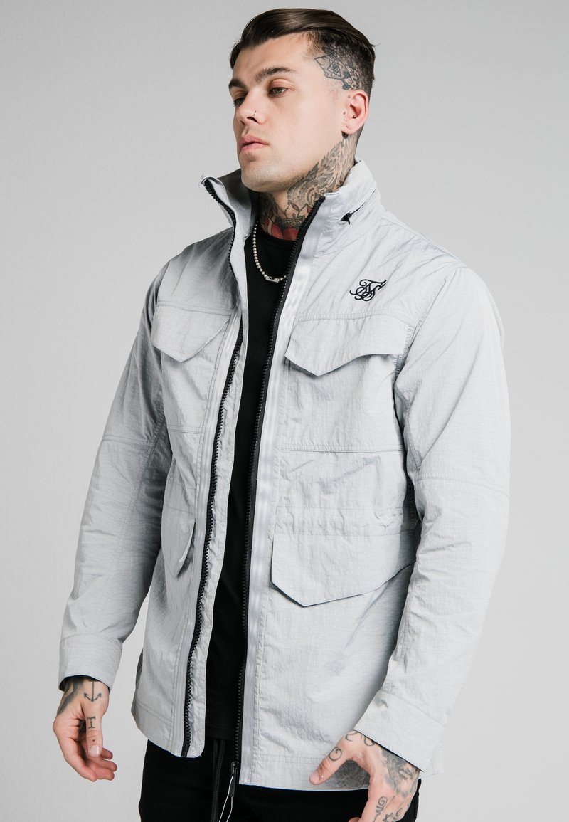 SIKSILK - Light jacket - grey