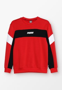 Puma - REBEL CREW - Sweatshirt - high risk red - 0