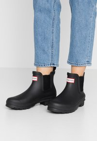 Hunter ORIGINAL - WOMENS ORIGINAL CHELSEA - Wellies - black - 0