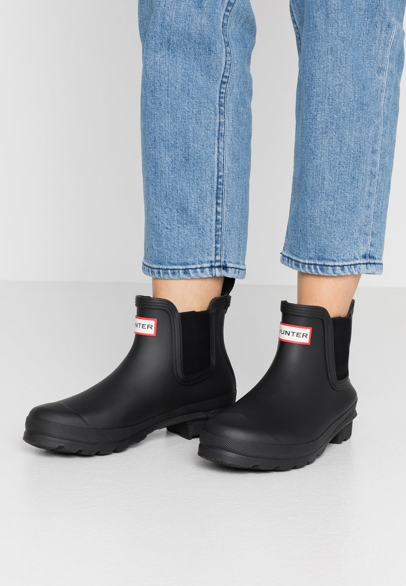 Hunter ORIGINAL - WOMENS ORIGINAL CHELSEA - Wellies - black