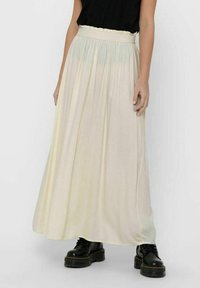 ONLY - Pleated skirt - ecru - 0