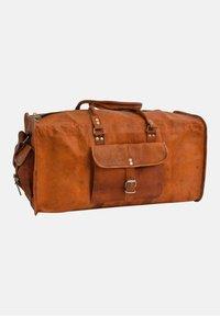Gusti Leder - Weekend bag - brown - 3