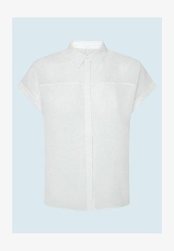 MINA - Button-down blouse - blanco off