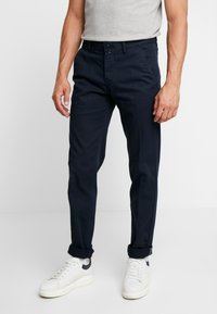 Marc O'Polo - DOBBY STRUCTURE - Chinos - total eclipse - 0