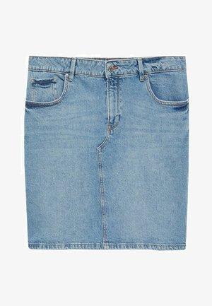 INMA - Pencil skirt - mittelblau