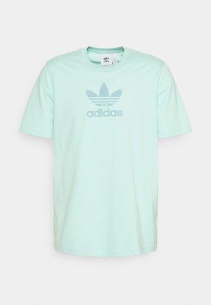 TREF SERIES TEE UNISEX - Print T-shirt - clear mint