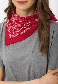 Levi's® - PAISLEY BANDANA - Skjerf - regular red - 1