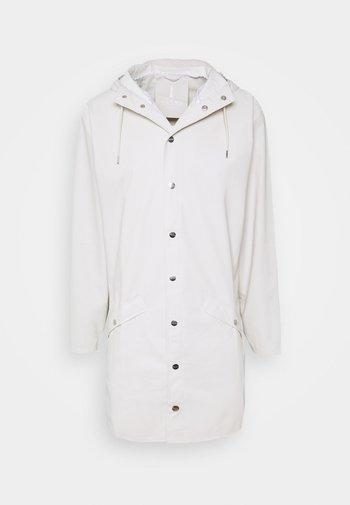 LONG JACKET UNISEX - Waterproof jacket - offwhite
