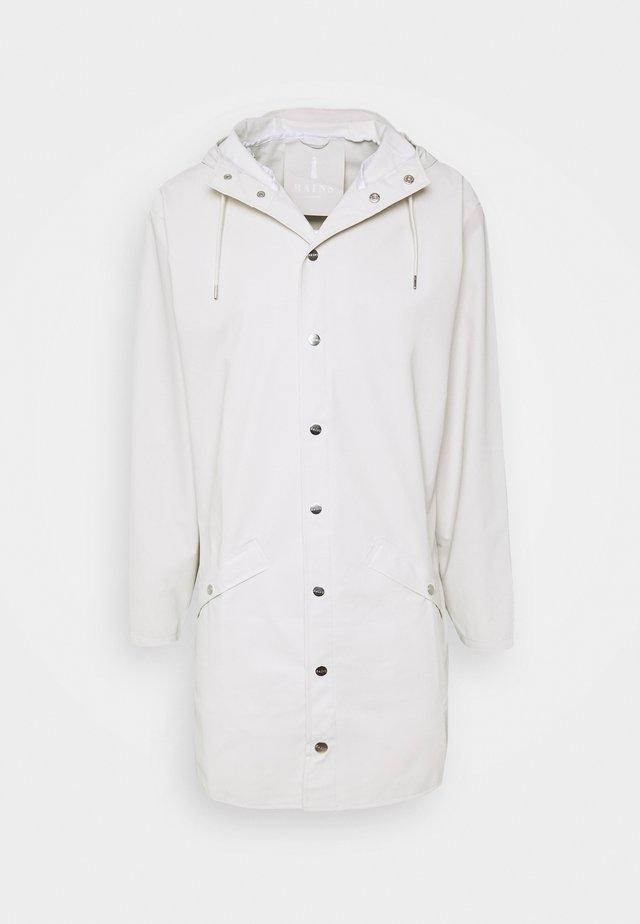 UNISEX LONG JACKET - Waterproof jacket - offwhite