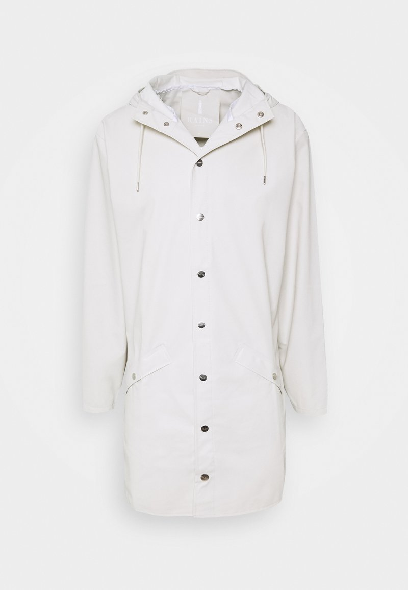 Rains - LONG JACKET UNISEX - Regnjakke - offwhite