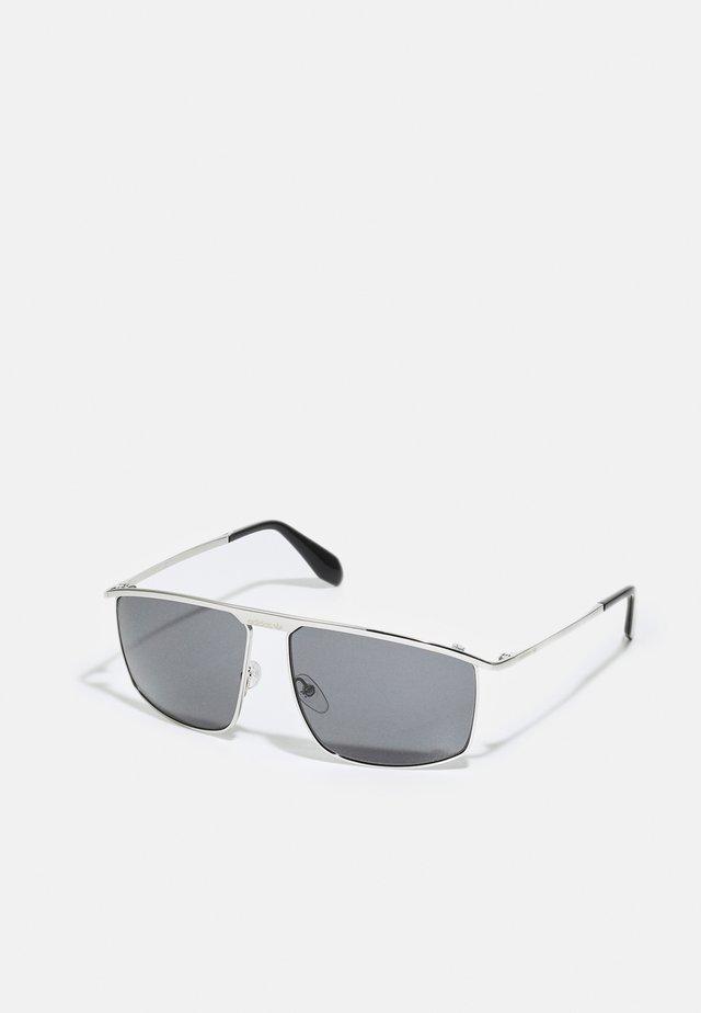 UNISEX - Sluneční brýle - shiny palladium/smoke