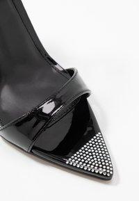 BEBO - SKITTLE - Sandaler med høye hæler - black - 2