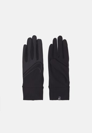 360 MEN'S LIGHTWEIGHT TECH RUNNING GLOVES - Hansker - black/black/silver