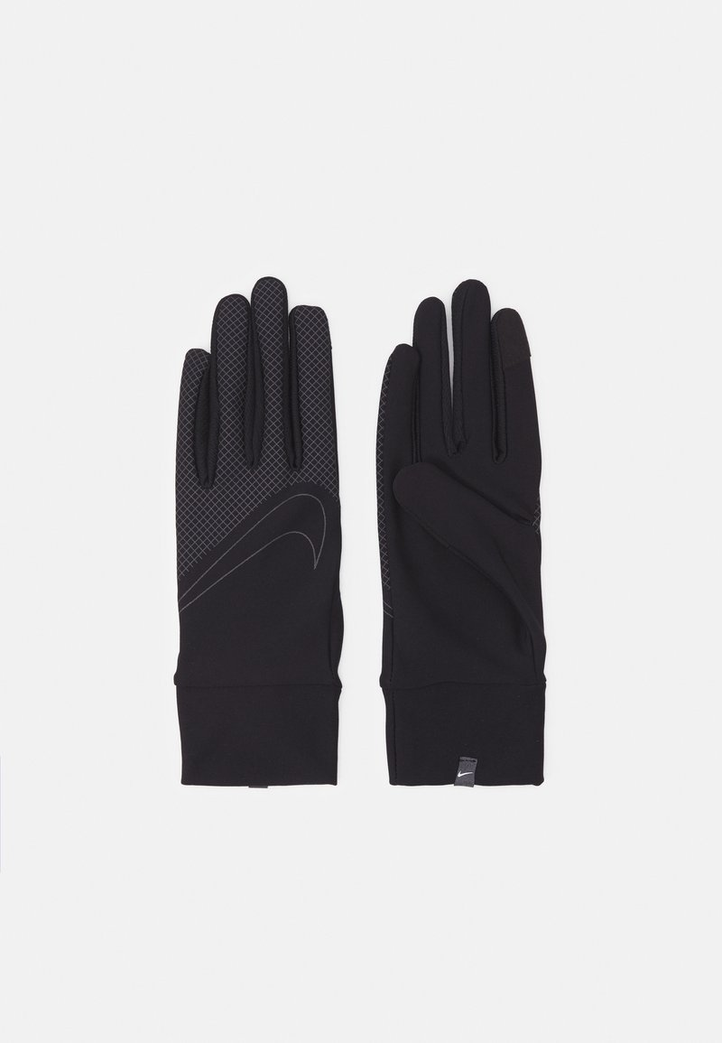 Nike Performance - 360 MEN'S LIGHTWEIGHT TECH RUNNING GLOVES - Hansker - black/black/silver