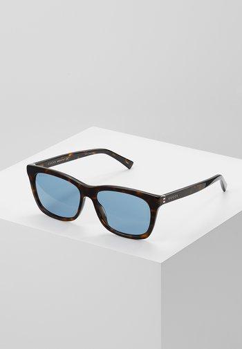 Sunglasses - havana/light blue