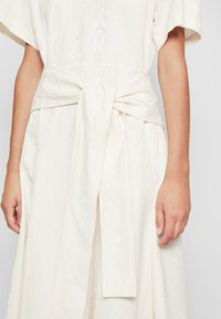 3.1 Phillip Lim - WRAPPED WAIST TIE DAY TSHIRT DRESS - Day dress - offwhite - 8