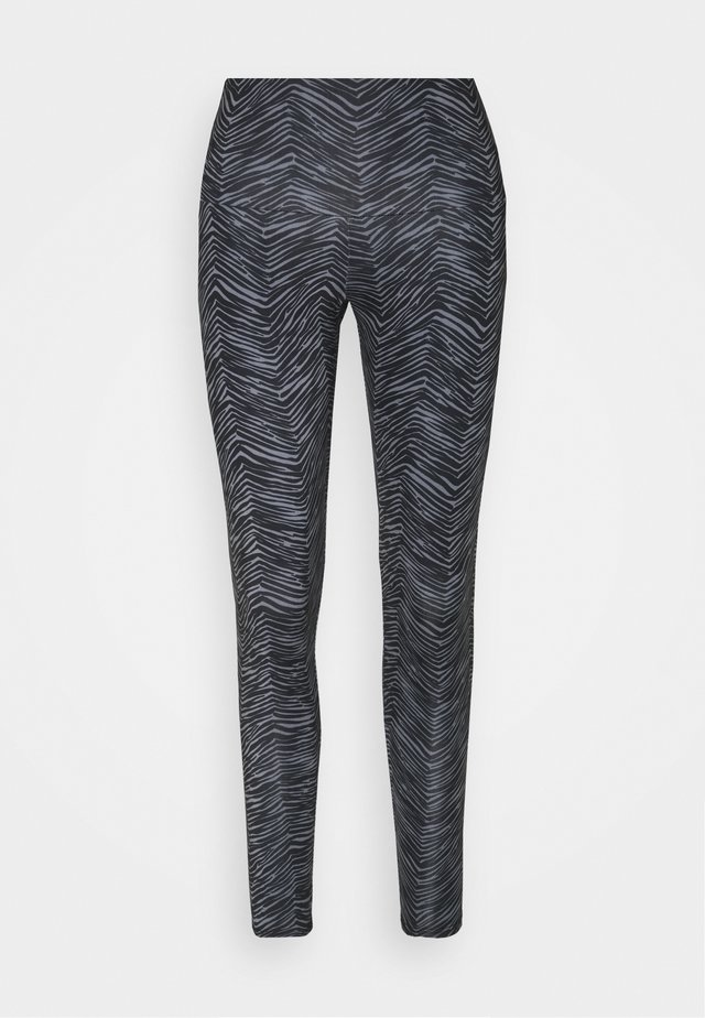 HIGH RISE LEGGING - Collant - black/grey