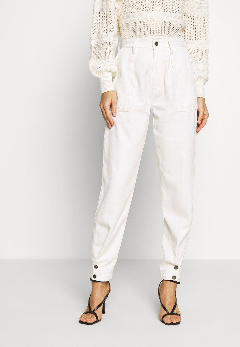 Ética - LAURA TROUSER - Pantalon classique - natural