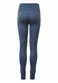 adidas Performance - AEROREADY HIGH-RISE COMFORT WORKOUT YOGA LEGGINGS - Collants - blue - 1